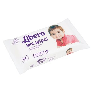 Libero Sensitive Wet Wipes 64 pcs