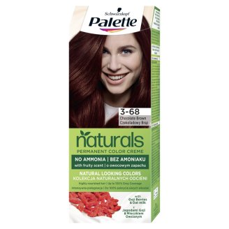 Schwarzkopf Palette Permanent Naturals Color Creme Hair Colorant 3-68 Chocolate Brown 868