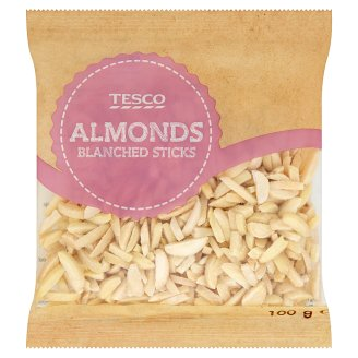 Tesco blansírozott mandulapálcikák 100 g