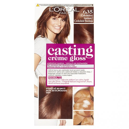 image 1 of L'Oréal Paris Casting Crème Gloss 635 Chocolate Bonbon Care Hair Colorant