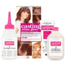 image 2 of L'Oréal Paris Casting Crème Gloss 635 Chocolate Bonbon Care Hair Colorant