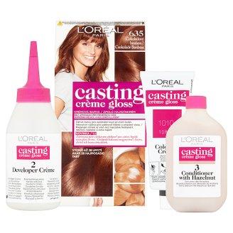 image 2 of L'Oréal Paris Casting Crème Gloss 635 Chocolate Bonbon Care Hair Colorant