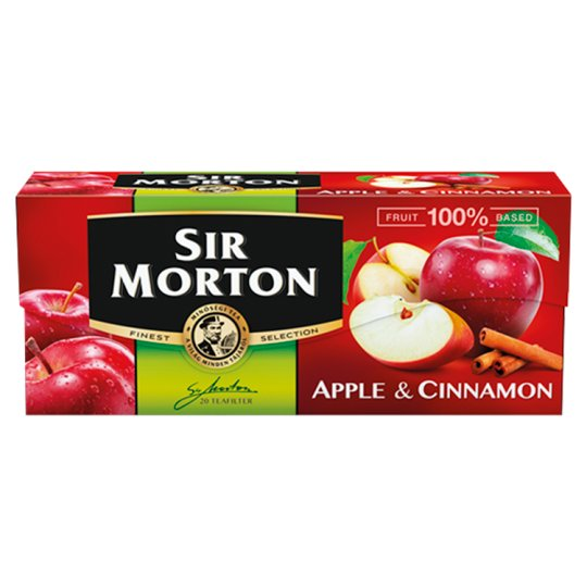Sir Morton Apple and Cinnamon Flavoured Fruit Tea 20 Tea Bags 35 g