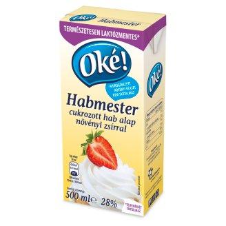 Oké! Habmester UHT Foam Base with Sugar 25% 500 ml