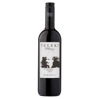 Csányi Pincészet Teleki Villányi Shiraz Dry Red Wine 13,5% 75 cl