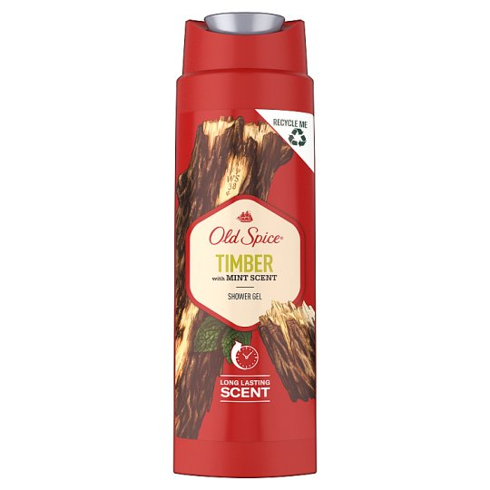 Old Spice Timber with Mint Shower Gel For Men 250 Ml