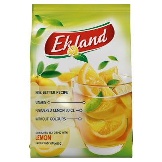 Ekland azonnal oldódó citrom ízű tea-italpor C-vitaminnal 300 g