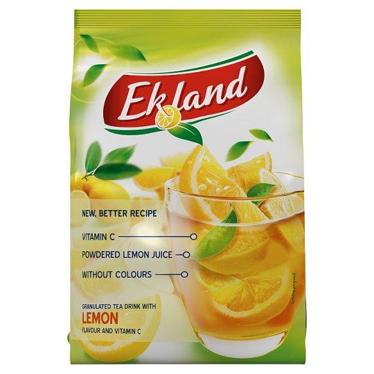 Ekland azonnal oldódó citrom ízű tea üdítőitalpor C-vitaminnal 300 g