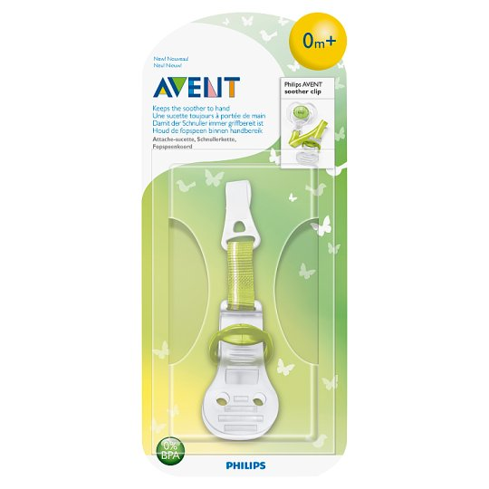 Philips Avent Soother Clip 0m+
