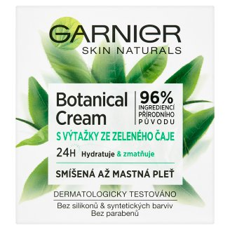 image 1 of Garnier Skin Naturals Botanical Hydrating Cream with Green Tea Extract for Mixed & Greasy Skin 50 ml