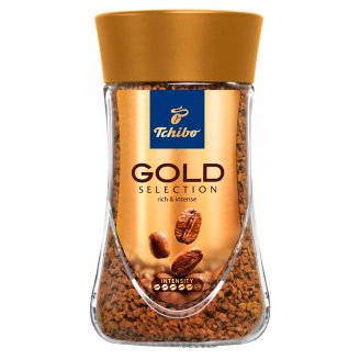 Tchibo Gold Selection instant kávé 100 g
