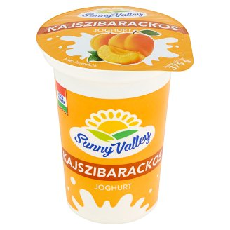Sunny Valley Low-Fat Apricot Yoghurt with Live Cultures 140 g