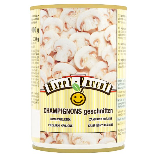 Happy Frucht Tinned Sliced Mushrooms 400 g