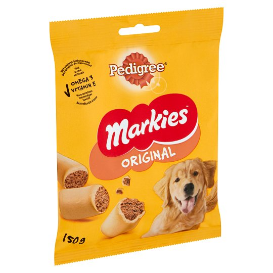 Pedigree Markies Complementary Pet Food for Adult Dogs with Marrow Bone Bites 150 g