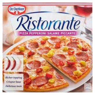 Dr. Oetker Ristorante Pizza Pepperoni Salame Piccante Quick-Frozen Pizza with Hot Salami 340 g