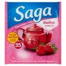 Saga Raspberry Flavoured Fruit Tea 35 Tea Bags