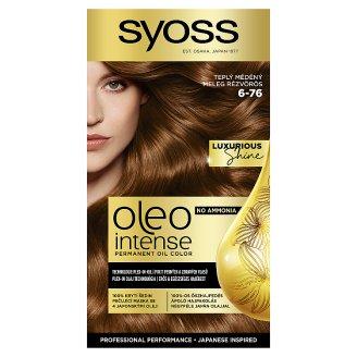 Syoss Color Oleo intenzív olaj hajfesték 6-76 meleg rézvörös