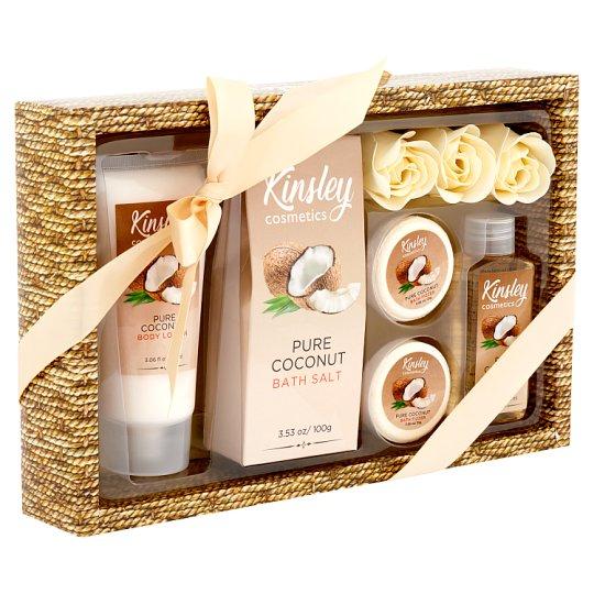 Kinsley Cosmetics Pure Coconut Bath Set