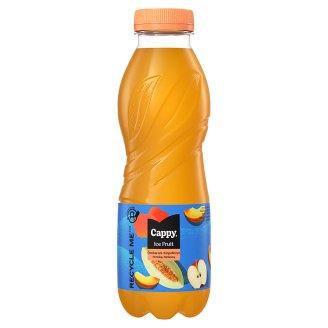 Cappy Ice Fruit Peach-Melon Non-Carbonated Apple-Peach-Melon Drink with Lemongrass Flavour 500 ml