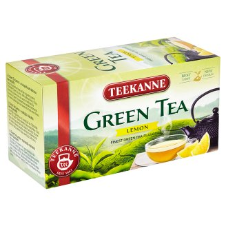 Teekanne Flavoured Green Tea with Lemon Taste 20 Tea Bags 35 g