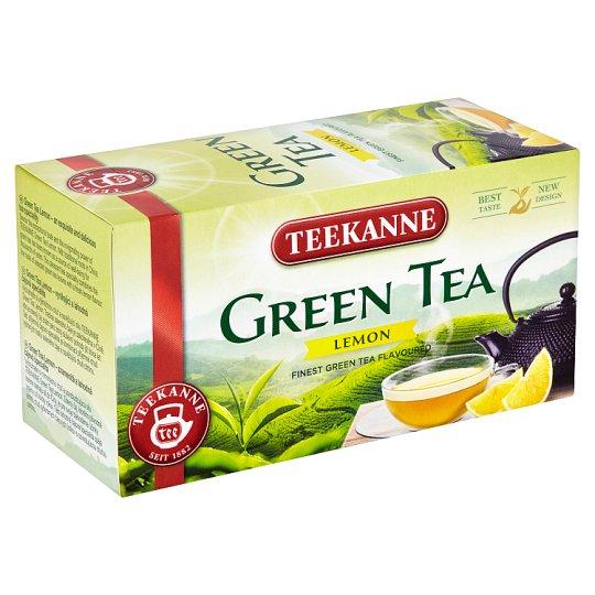 Teekanne Flavoured Green Tea with Lemon Taste 20 Tea Bags 35 g