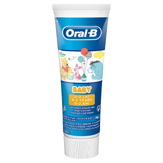 Oral-B Baby Winnie The Pooh Toothpaste 75 ml, 0 - 2 Years