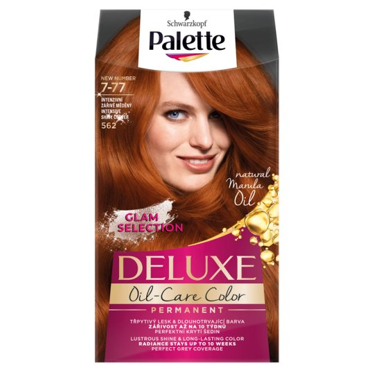 Schwarzkopf Palette Deluxe Intense Cream Hair Colorant 562 Intensive Shiny Copper