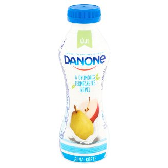Danone Low-Fat Apple-Pear Flavoured Yoghurt Drink with Live Cultures 280 g