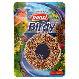 Panzi vitaminos karikák hullámos papagájoknak és kanáriknak 70 g