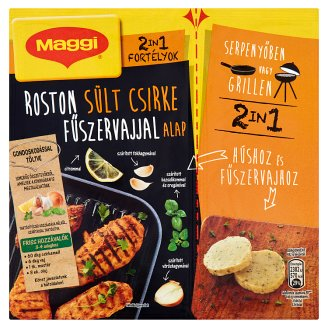 Maggi Fortélyok 2in1 Grilled Chicken with Spicy Butter Base 35 g