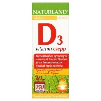 Naturland Vitalstar D3-vitamin csepp 30 ml