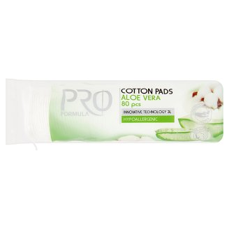 Tesco Pro Formula Aloe Vera Cotton Pads 80 pcs