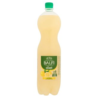 Balfi Diet Carbonated Lemon Flavoured Soft Drink 1,5 l