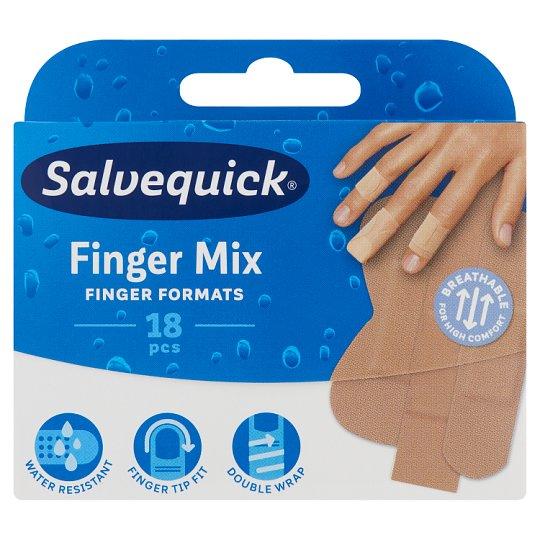 Salvequick Finger Mix Plaster 18 pcs