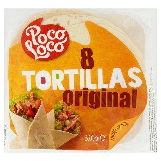 Poco Loco Original Tortillas 8 pcs 320 g