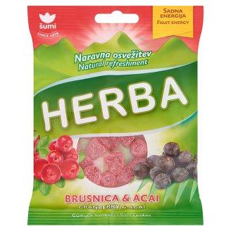 Šumi Herba Cranberry & Acai Flavoured Gums 90 g