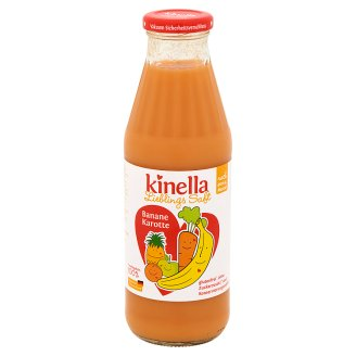 Kinella Banana-Carrot Fruit Juice 4+ Months 500 ml