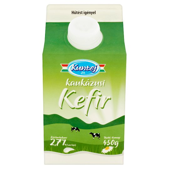 Kuntej Kunsági Kaukázusi Kefir Low-Fat Cultured Milk Product 450 g