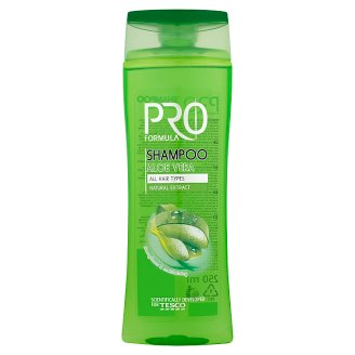 Tesco Pro Formula Aloe Vera sampon 250 ml