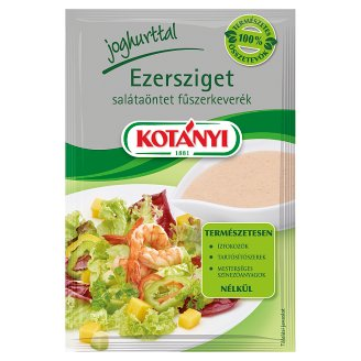 Kotányi Ezersziget salátaöntet fűszerkeverék joghurttal 13 g