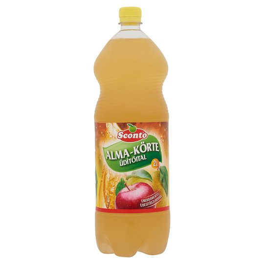 Sconto Energy-Free Apple-Pear Drink with Sweeteners 2 l