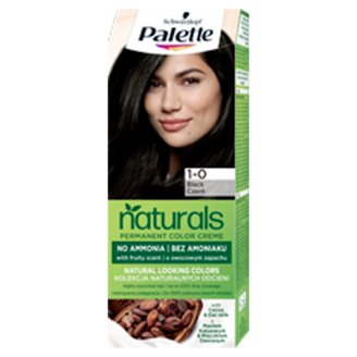 Schwarzkopf Palette Permanent Naturals Color Creme Hair Colorant 1-0 Deep Sea Black (900)
