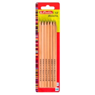 Herlitz HB Pencil with Breakproof Lead 12 pcs