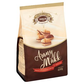Ziegler Gold Acorn Wafers Filled with Cocoa Cream 600 g
