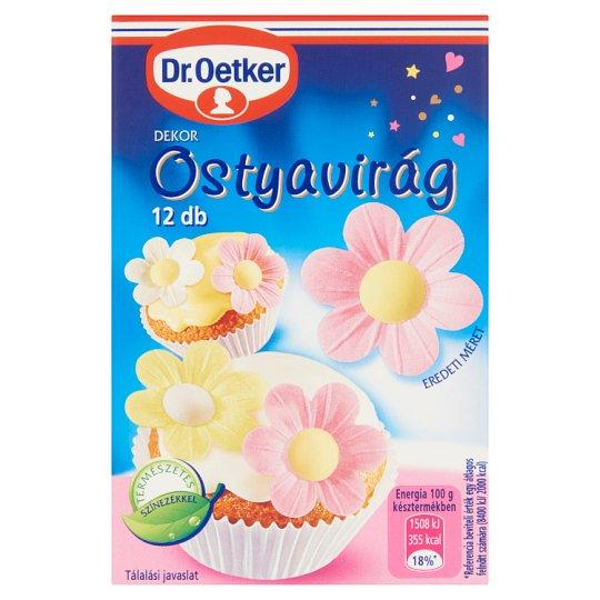 Dr. Oetker Decor Wafer Flower 12 pcs