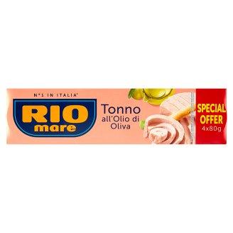 Rio Mare Tuna Piece in Olive Oil 4 x 80 g