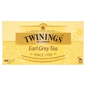 Twinings Earl Grey aromás fekete tea 25 filter 50 g