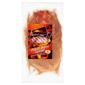 Hajnal Hús Frédi-Béni szelet pikáns mustáros pácban