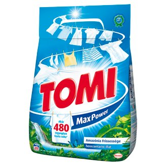 Tomi Max Power Amazonian Freshness Powder Detergent 20 Washes 1,4 kg