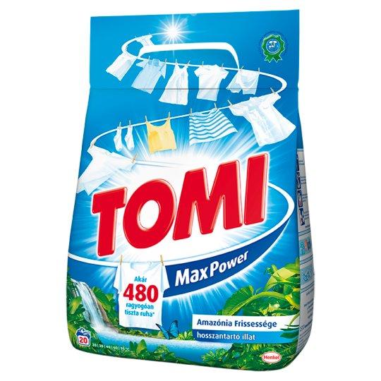 Tomi Max Power Amazonian Freshness Powder Detergent 20 Washes 1,4 kg